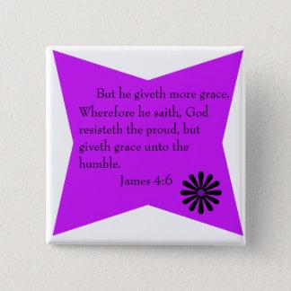James 4:6 button