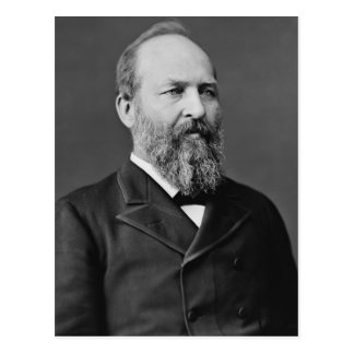 James A. Garfield Postcard