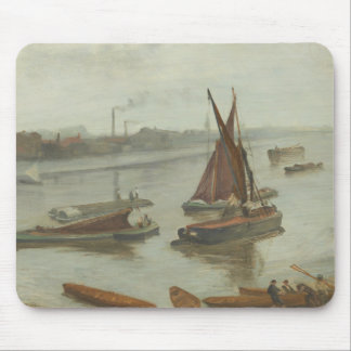 James Abbott McNeill Whistler - Grey and Silver Mouse Pad