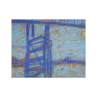 James Abbott McNeill Whistler -Nocturne-Battersea Canvas Print