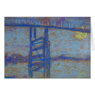 James Abbott McNeill Whistler -Nocturne-Battersea Card