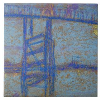 James Abbott McNeill Whistler -Nocturne-Battersea Ceramic Tiles