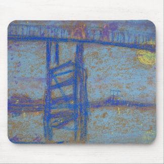 James Abbott McNeill Whistler -Nocturne-Battersea Mouse Pad