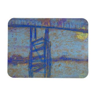 James Abbott McNeill Whistler -Nocturne-Battersea Rectangular Photo Magnet