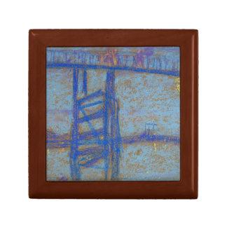 James Abbott McNeill Whistler -Nocturne-Battersea Trinket Box