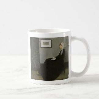 James Abbott Whistler - Whistler's Mother Coffee Mug