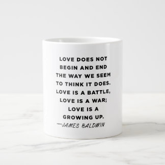 James Baldwin Quote Mug