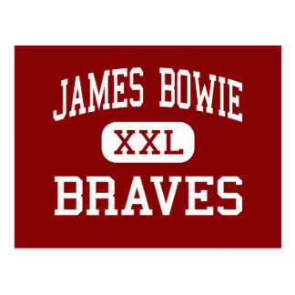 James Bowie - Braves - Middle - Amarillo Texas Postcard