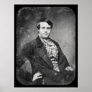 James Brown publisher Daguerreotype 1848 Poster