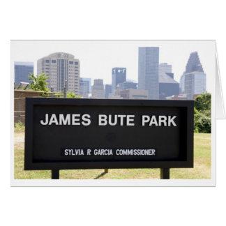 James Bute Park Card