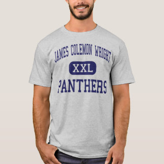 James Colemon Wright Panthers Middle Madison T-Shirt