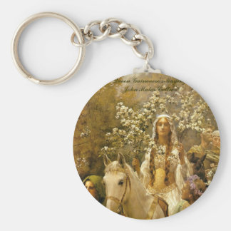 James Collier, 'Queen Guenver's A-maying' Keychain