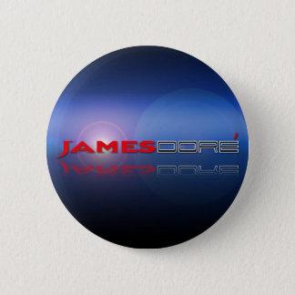 James Dore Button Logo blue lense flare