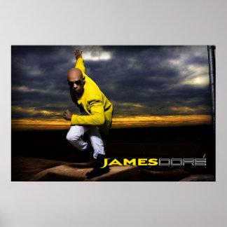 James Dore' Matrix Poster