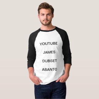 James dubset Abanto youtube shirts