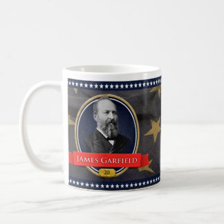 James Garfield Historical Mug