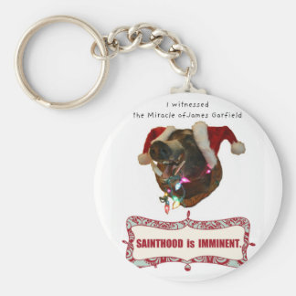 James Garfield:Patron Saint of Accidental Miracles Keychain