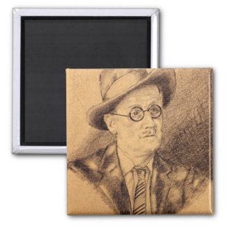 James Joyce Magnet