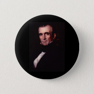 James K. Polk 11th US President 2 Inch Round Button