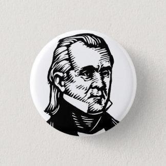 James K Polk button