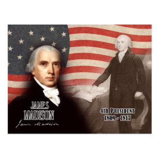 James Madison - 4th President of the U.S. Postcard
