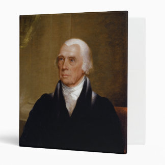 James Madison by Chester Harding (1830) Vinyl Binders