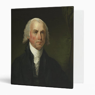 James Madison by Gilbert Stuart (1821) 3 Ring Binders