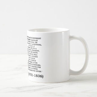 James Madison Knowledge Forever Govern Ignorance Coffee Mug