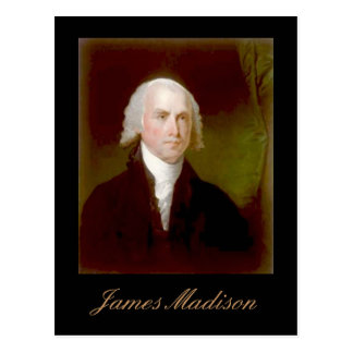 James Madison quote Postcard