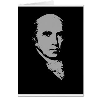james madison silhouette card