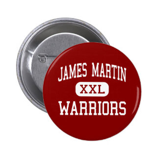 James Martin - Warriors - High - Arlington Texas Buttons