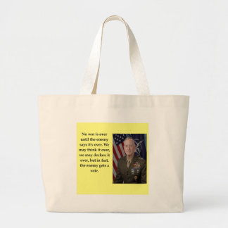 james mattis large tote bag