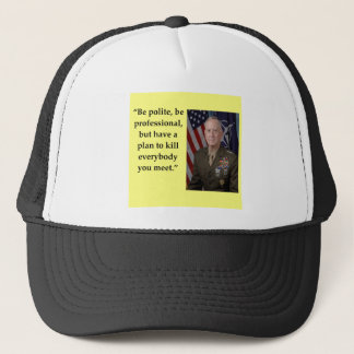 james mattis trucker hat