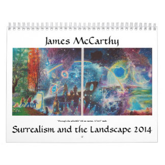 James McCarthy Surrealism and the Landscape 2014 Calendars