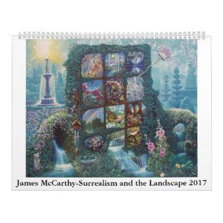 James McCarthy-Surrealism and the Landscape 2017 Calendar
