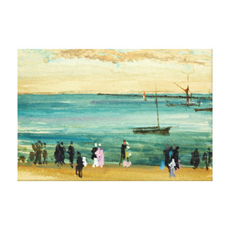 James McNeill Whistler Southend Pier Canvas Print