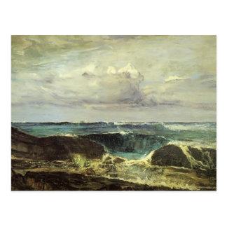 James McNeill Whistler- The Blue Wave Biarritz Postcard