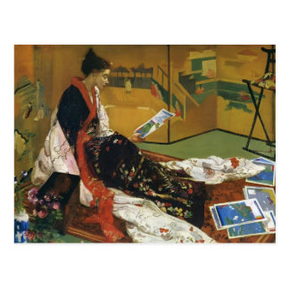 James McNeill Whistler- The Golden Screen Postcard