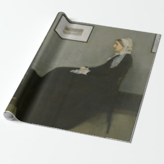 James McNeill Whistler's Mother Wrapping Paper