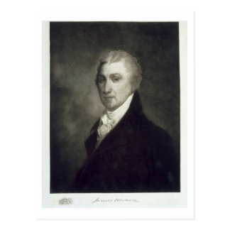 James Monroe, 5th President of the United States o Postcard