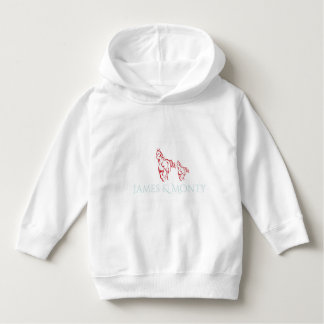 James & Monty -Toddler Pullover Hoodie