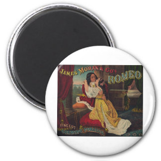 James Moran & Co's Romeo Chewing Tobacco 2 Inch Round Magnet