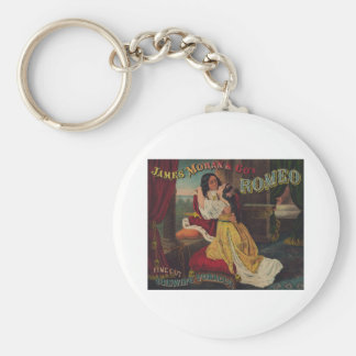 James Moran & Co's Romeo Chewing Tobacco Basic Round Button Keychain
