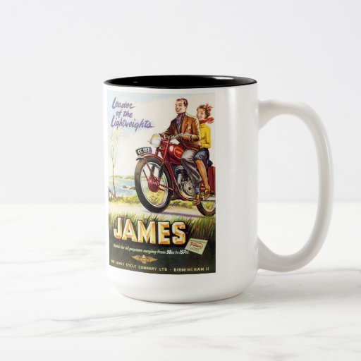 James Motorcycles Coffee Mug
