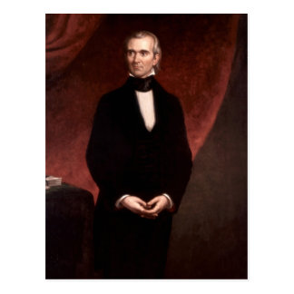 James Polk Postcard
