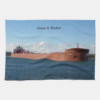 James R. Barker kitchen towel