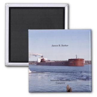 James R. Barker magnet