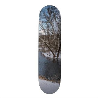 James River Cuts Back Custom Skateboard
