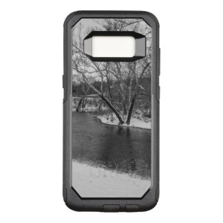 James River Cuts Back Grayscale OtterBox Commuter Samsung Galaxy S8 Case