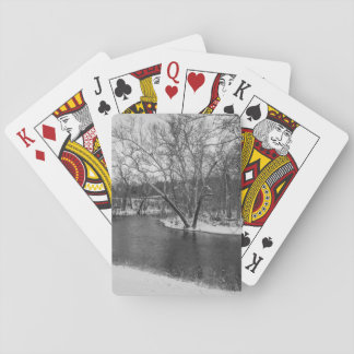 James River Cuts Back Grayscale Poker Deck